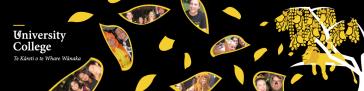 University College website banner