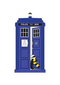 badger in the TARDIS